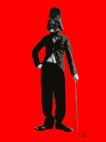 Darth Chaplin by giuseppe amato