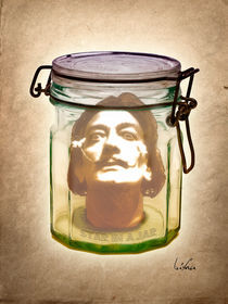 Dalì in a Jar von giuseppe amato