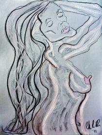 Vulnerable, Beautiful Blues of Mine von Christina Rodriguez