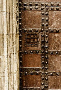 Cathedral Door, Valencia von Cameron Booth