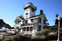 California Point Fermin Lighthouse von Lennox Foster