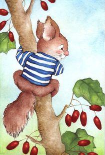 Ein echtes Streifenhörnchen von Katja Kiefer