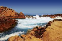 Canal Rocks by Geoff White