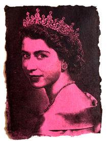 Young Elizabeth (Pink) by Myles Calvert