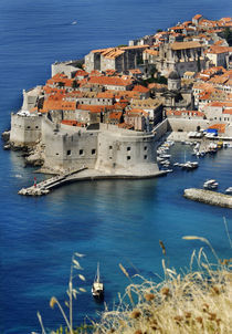 Old Town, Dubrovnik, Croatia by Melissa Salter