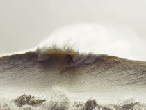 Winter swell in the UK von Jason swain