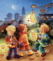 Laterne, Laterne, Sonne, Mond und Sterne by Denitza Gruber