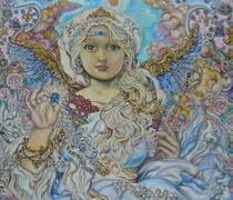 Yumi Sugai.An angel of the blue crystal. von Yumi  Sugai