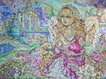 Yumi Sugai.An angel of praying. von Yumi  Sugai