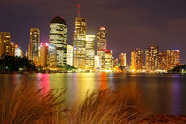 Brisbane City on the River by Kelly Pack