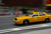 New York Taxi by Geoff White