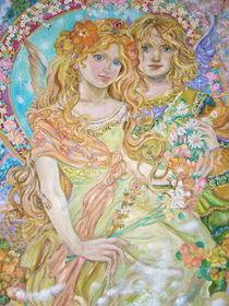 Yumi Sugai.The lovers of the spring angel. von Yumi  Sugai