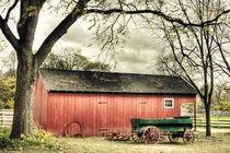 Antique Western Wagon by Richard Susanto
