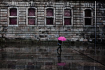 The pink umbrella by Jorge Maia