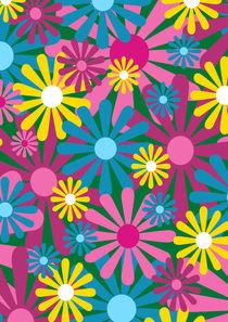 Funky Flowers von Louise Parton