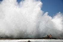 Ocean wave von Peter  Crumpton