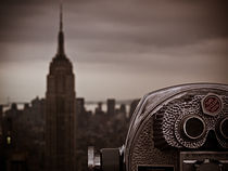 New York City Empire State Skyline von Peter  Crumpton