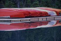 Red Canoes by Wolfgang Kaehler