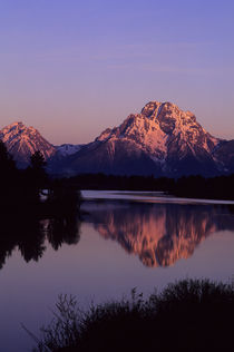 Grand Teton Mountains and Snake River von Wolfgang Kaehler