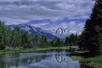 Grand Teton Mountains and Snake River by Wolfgang Kaehler