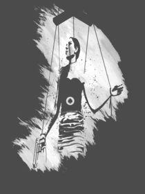 Puppet Stencil von Alexandros Karayiannis