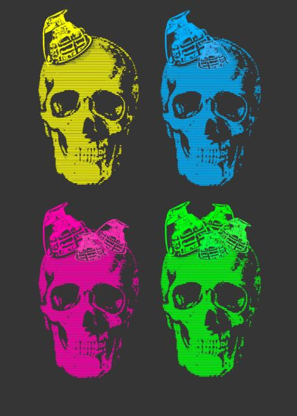 Grenade-skull-4way-art-flakes