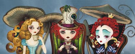 Alice-tea-party