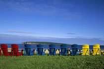 Colorfull Chairs by Wolfgang Kaehler