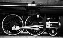 Steam Train Wheels by Lennox Foster