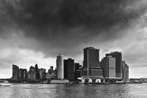 Storm Clouds Over Manhattan by Cameron Booth