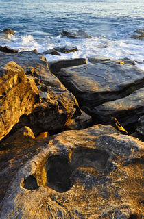 Ocean Rocks, Manly Beach by Cameron Booth