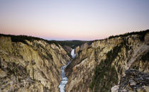 Dawn, Grand Canyon of the Yellowstone von Cameron Booth
