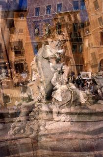 Piazza Navona 1 von Angela Bruno