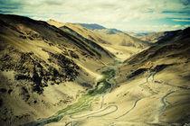 Himalayan valley. by Anna Vesna