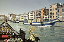 Venedig - Canal Grande by Renate Reichert