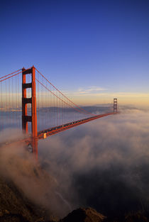 San Francisco Golden Gate Bridge by Wolfgang Kaehler