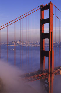 San Francisco Golden Gate Bridge von Wolfgang Kaehler