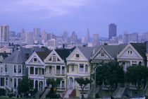 "San Francisco ""Painted Ladies"" von Wolfgang Kaehler"