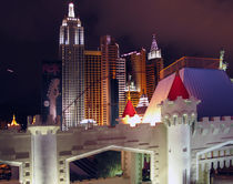Las Vegas Architecture at Night by Eye in Hand Gallery