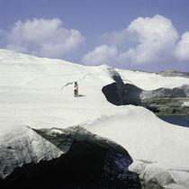 Man on the rocks by George Kavallierakis