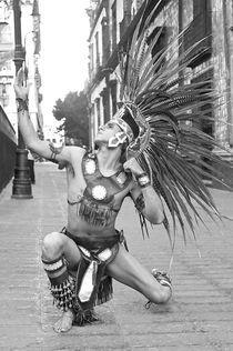 Guerrero azteca by Ricardo Anderson