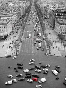 Avenue des Champs-Élysées von Marty Portier