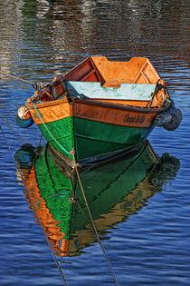 Rowboat, Newport Beach, California von Eye in Hand Gallery