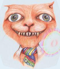 The Cheshire Cat by Helena Wilsen - Saunders