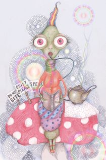 The Hookah Smoking Caterpillar by Helena Wilsen - Saunders