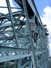 Stahlgewirr (Blaues Wunder-Dresden) von minnewater