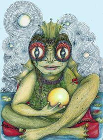 The Frog King by Helena Wilsen - Saunders