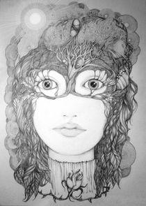The Oak Tree Goddess by Helena Wilsen - Saunders