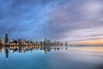 Downtown Chicago at Sunrise von Richard Susanto