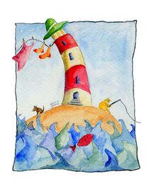 kleiner Leuchtturm von Susanne Müller